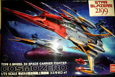 Yamato Cosmo Zero A1 Kodai Fighter Bandai Kit 1:72 46525 Star Blazers 2199 Argo