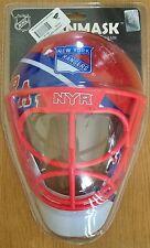 New York Rangers Nhl NetMinder arquero Casco Máscara