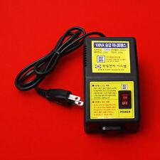 Mini Transformer Converter Step Up Voltage Button From 120V To 220V 60Hz 100W