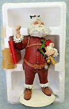 "Duncan Royale Thomas Nast Santa Series 1 9"" Christmas Figure"