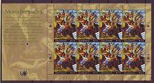 Postfrische Briefmarken der Vereinten Nationen mit Geschichts-Motiv
