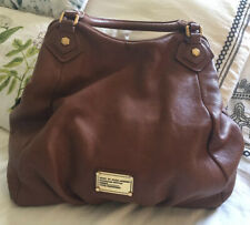 MARC by MARC JACOBS Tan Leather CLASSIC Q FRAN Tote Convertible Bag Purse-NEW