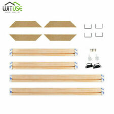 Professional Canvas Stretcher Bars Frames Srip Kit for Painting Gallery Wall Art