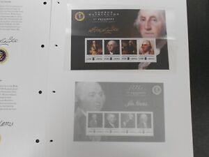 """Liberia """"The United States Presidential Issues"""" 10 sheets on preprint pages, MNH"""