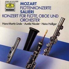 Mozart Flötenkonzerte, KV 313, 314/Salieri: Konzert für Flöte, Oboe und O.. [CD]