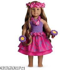 AMERICAN GIRL KANANI'S LU'AU~LUAU SET~OUTFIT~SKIRT~GOURDS~LEI~HAIR WREATH~NEW