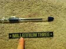 Millennium Three M3 Snowboard sticker