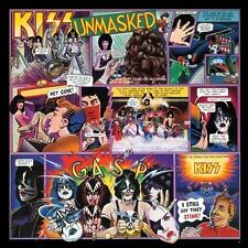Unmasked by Kiss Rock CD Ace Frehley-Gene Simmons-Peter Criss-Paul Stanley