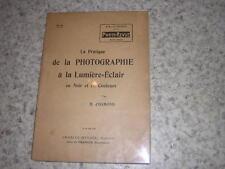 1920.pratique de la photographie à la Lumière-éclair / Osmond