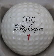 (1) Billy Casper 100 Signature Logo Golf Ball (Cir 1966) #1