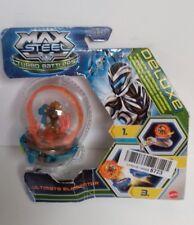 MAX STEEL - Turbo Battlers Ultimate Eliminator Deluxe Mattel Unopened Toy Figure
