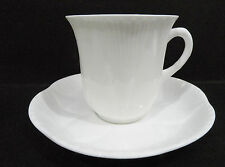 Shelley Dainty Cup & Saucer (duo)  - cup a/f - 'fleabite' chip to rim