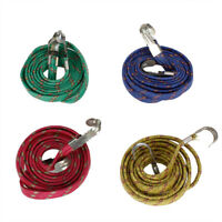 Elastic Flat Stretch Tighten Luggage Cord Strap Rope for Bicycle Bike Motorcycle