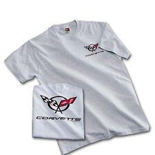 C5 Corvette Gray Heather Ash Cotton T-Shirt