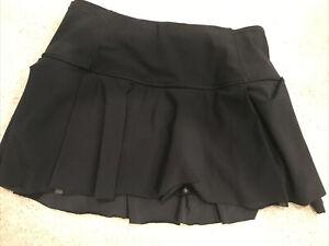 Lululemon Tennis Running Skort 6 Black