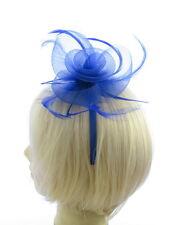 bleu roi fascinateur avec bleu satin bandeau, Mariages, Courses, Femmes jour