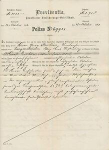"""BAYERN """"MÜNCHEN II"""" K1 10 Pf magenta Wappen n. """"LANGENALTHEIM"""" 1888 VERSICHERUNG"""