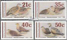 Bophuthatswana 239-242 (compleet.Kwestie.) First Day Cover 1990 Flüghühner