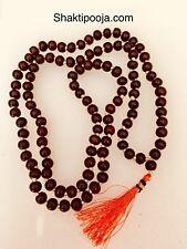 6mm Red Sandalwood Buddhist Mala 108 Prayer Beads Necklace USA Seller