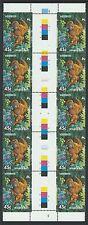 AUSTRALIA 1994 Endangered Species -45c Orangutan (SG 1481) MNH in a Gutter Strip
