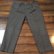 Tilley Endurables Men's Pants Flat Front Green Sz 42 x 29.5