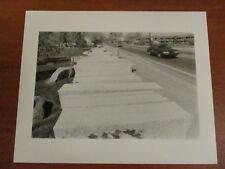 Vintage Glossy Press Photo Natick MA Granite Curbing Along Route 135 #2 5/88