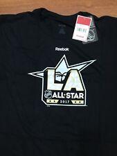 NHL 2017 All Star Game Men's Official Logo Short Sleeve Tee, X-Large, Black