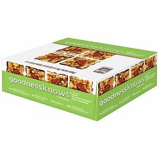 Goodnessknows Apple, Almond Peanut & Dark Chocolate Snack Squares 12-Count Box