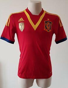 Spain 2013 - 2014 Home football Adidas shirtsize S