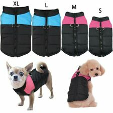 K2 Waterproof Pet Dog Clothes Winter Warm Padded Coat Vest Jacket S M L XL
