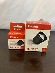 Canon TC-DC52 Tele Converter & LA-DC52G Adapter