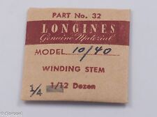 Longines Genuine Material Stem Part 32 for Longines Cal. 10/40