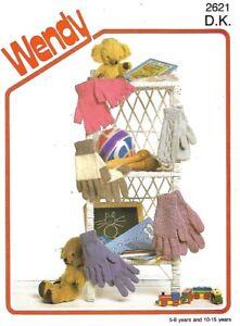 Knitting pattern - Childrens gloves & mittens