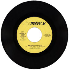 "CHUCK SIMMONS  ""AM I GROOVING YOU""   MODERN / NORTHERN SOUL"