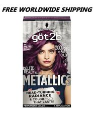 Schwarzkopf Got2b Amethyst Chrome Metallics Permanent Hair Color FREE WORLD SHIP