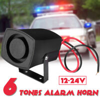 Universal 12-24V Wired Loud Alarm Siren Horn For Home Security Protection