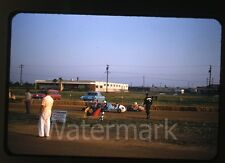 1950s kodachrome photo slide Quarter midget Go Karts  Los Angeles County #3 cars