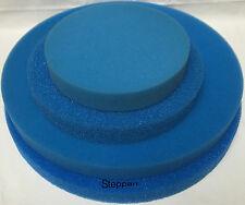 Filterschwamm Filtermatte 30 - 48  x  3 / 5 cm rund nach Wahl Koi Teich Filter