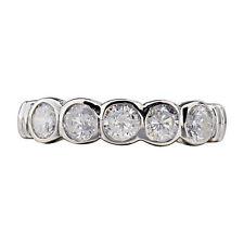 Solitäre Modeschmuck-Ringe mit Cubic Zirkonia runde
