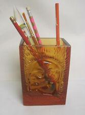 Lenin. Paperweight. Pencil Holder. Glass. Ussr 1960