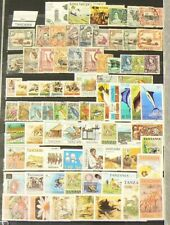 Tanzania Lot of over 270 Stamps Cancelled with Gum #6947