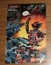 Seltene Werbung LEGO System Spyrius 6949 Titan-Monster-Robot 6991 6889 6835 1994