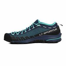 La Sportiva Womens TX 2 Walking Shoes Black Blue Sports Outdoors Breathable
