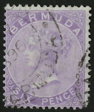 Bermuda  1865-74  Scott #  5  USED