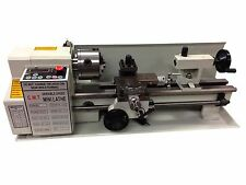 DIGITAL PRECISION METAL MINI LATHE 7 x 14 MACHINE VARIABLE SPEED 550W 2500 RPM