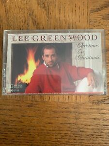 Lee Greenwood Christmas To Christmas Cassette