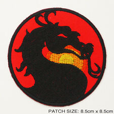 MORTAL KOMBAT Classic Video Game Embroidered Iron-On Patch!