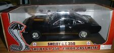 Shelby Collectibles Shelby Mustang GT-350 BLACK/GOLD Diecast 1/18