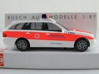 """Busch 49451 MB E-Klasse T-Modell (2003) """"DRK KV Reutlingen"""" 1:87/H0 NEU/OVP"""