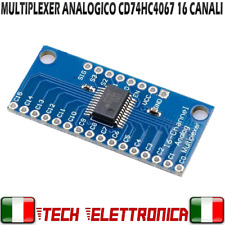 Multiplexer Analogico 16 Canali CD74HC4067 Arduino